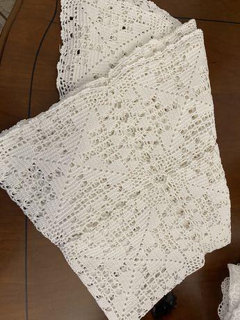 Vendo toalha de renda e naperons