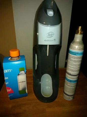Soda stream, sodastream.Komplet saturator, nowa butelka pusty nabój.