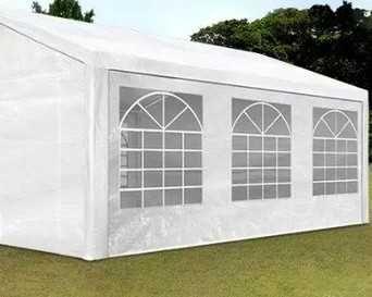 Wynajm namiotu imprezowego ogrodowego w plenerze firmie.