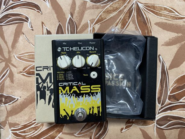 Tc Helicon Critical Mass вокальний процесор