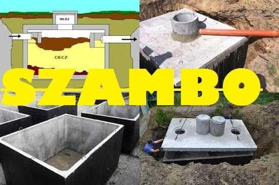 Zbiornik Mocny betonowy 10000l na gnojówkę, ścieki szambo betonowe