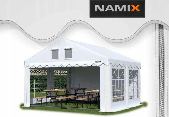 Namiot ROYAL 4x4 ogrodowy imprezowy garaż wzmocniony PVC 560g/m2