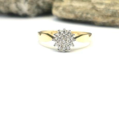 Złoty pierścionek Jeżyk Złoto Pr. 585!!!