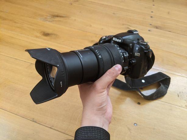 Nikon D80 + sigma 18-200mm + ПОДАРУНКИ
