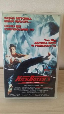 Kasety karate VHS orginały PL