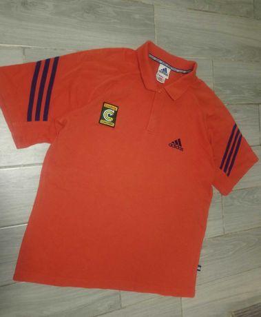Мужская футболка поло Adidas размер L,оригинал