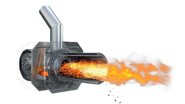 Palnik na pellet montaż KIPI ROT POWER pelet serwis