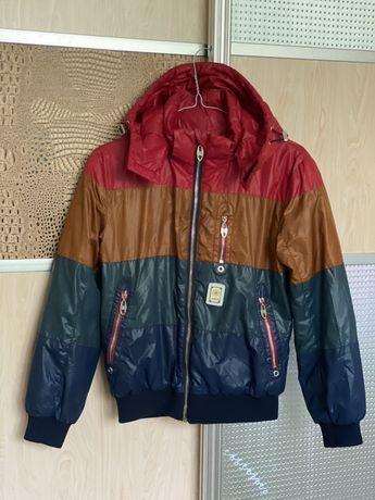Куртка весняна для хлопчика 9-12 р. Демісезонна