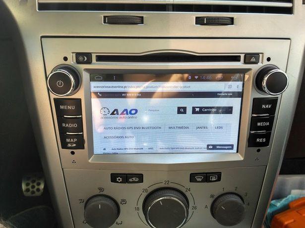 Auto rádio opel GPS DVD opel astra H corsa D zafira vivaro android