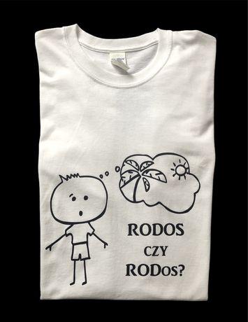 Koszulka z nadrukiem - RODOS czy RODos