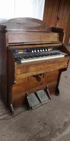 Fisharmonia organy pianino Antyk John.P Andresen 100 letnie