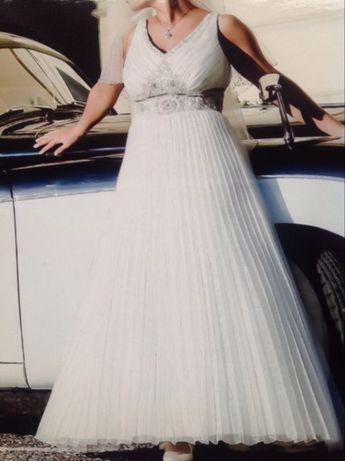 Suknia ślubna 40/42 Sarah - kolekcja Magic model nr 2909 Ecru