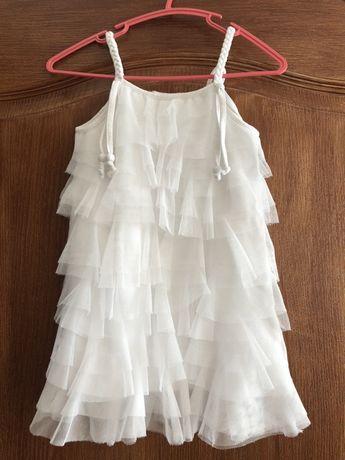 Платье Снежинка утренник