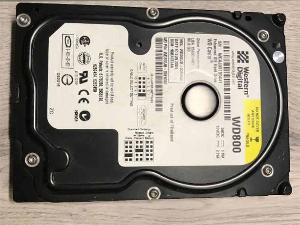 Жесткий диск Western Didital WD800 80 GB