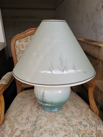 Przepiekna Lampa ceramiczna