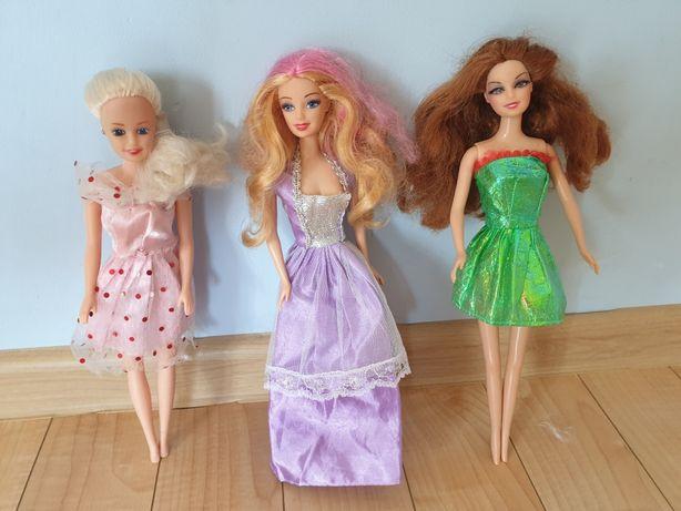 Lalki Barbie 2 lalki+ trzecia gratis