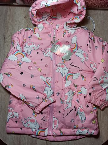 НОВАЯ куртка для девочки размер 110