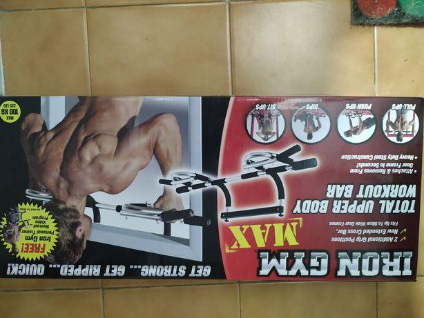 Iron Max - Barra de exercício