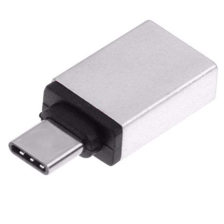 Adaptador / Conversor USB-C (typeC) macho - USB 3.1 fêmea - NOVO
