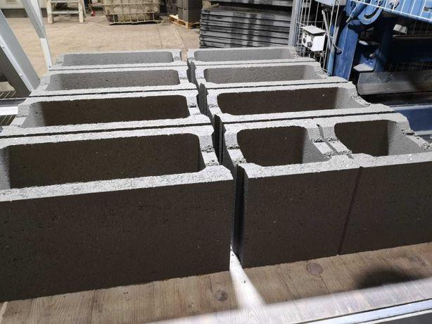 pustak szalunkowy, bloczek betonowy
