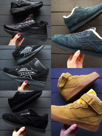 Распродажа зимних мужских кроссовок UGG,Asics,Reebok,Puma