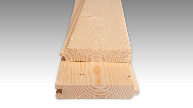 Stropopodłoga podłoga drewiana PTGH 28x145 Klasa AB Świerk Skandynawsk