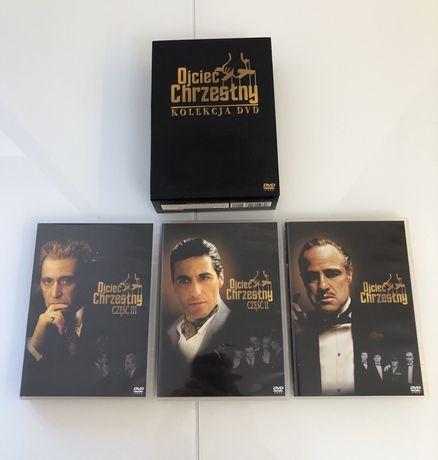 Ojciec Chrzestny 3 części DVD - box kolekcjonerski