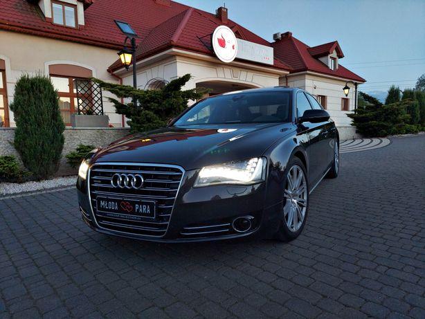 AUDI A8 auto do ślubu