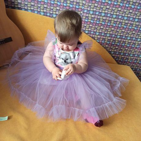 Новое детское праздничное платье на 1 годик
