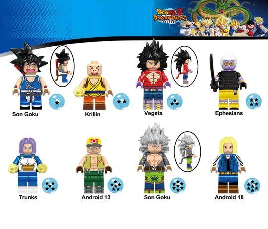 Bonecos minifiguras Dragon Ball nº17 (compativel com Lego)