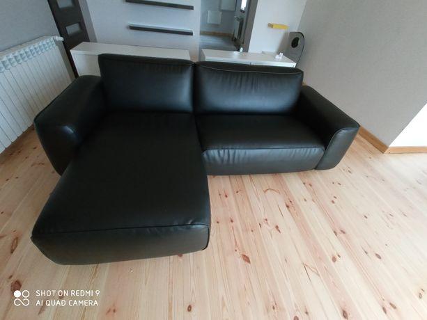 Kanapa narożna Ikea  Dagarn czarna