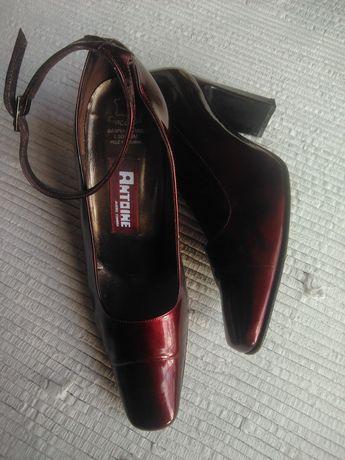 Sapatos Antoine em pele