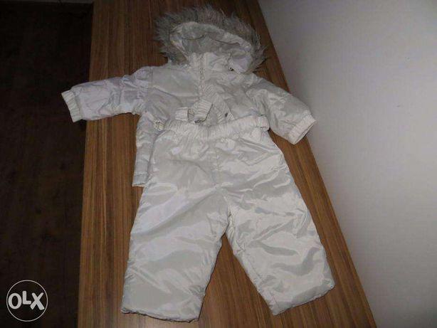 kombinezon ubranko do chrztu 3-6 m-cy