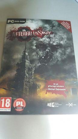 AfterFall in Sanity gra PC DVD-rom + płyta z muzyką nowa