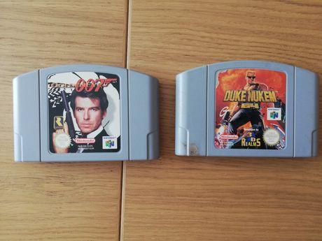 Jogos Nintendo 64 / N64 - Golden Eye 007 Nuke Dukem 64