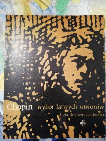 Zbiór nut - Chopin wybór łatwych utworów