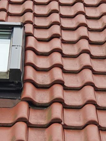 Dachówka Rupp Ceramika Siriusz 15 przykominowa, zamykająca, dwufalowa