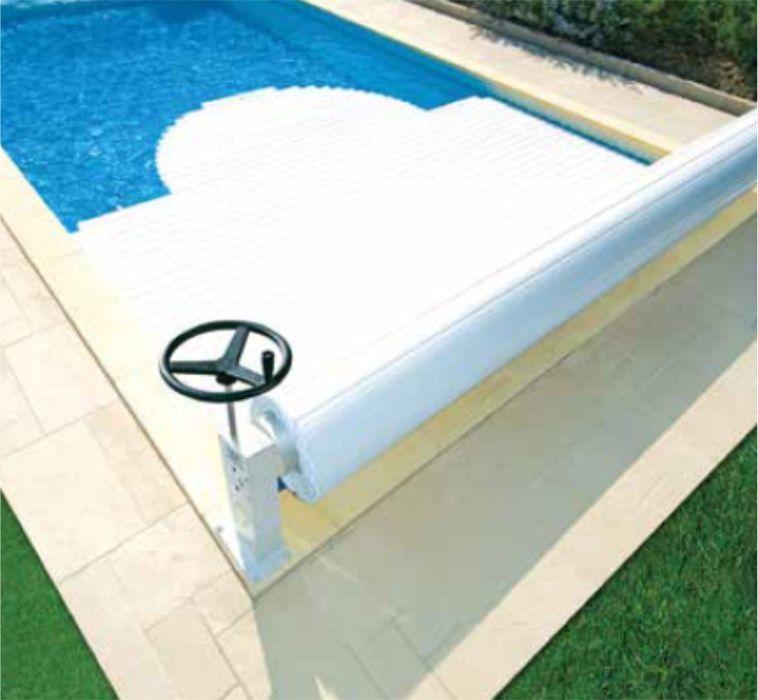 Cobertura de segurança de piscina modelo eléctrico 6mx4m Cascais E Estoril - imagem 1