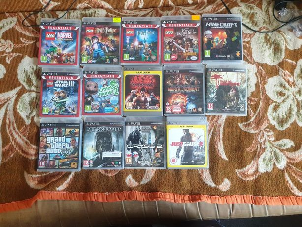 Psp,ps2,3 gry move buzz minecraft