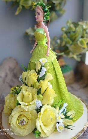 Букет из конфет_Цветочная фея