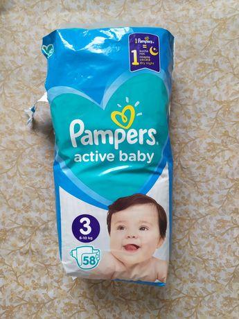 Памперсы Pampers Active Baby 3, 6-10 кг