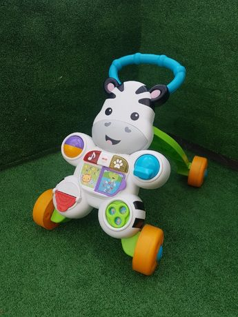 Chodzik zebra marki Fisher Price