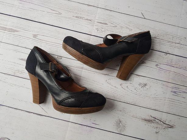 Buty pantofle czółenka botki CCC Jenifer rozmiar 39