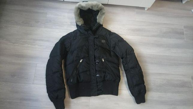 Zimowa puchowa kurtka Nike r. XS b. Ciepła w góry