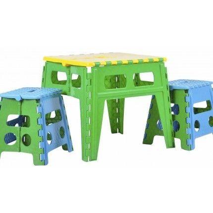 Раскладной стол пластиковый для детей и взрослых