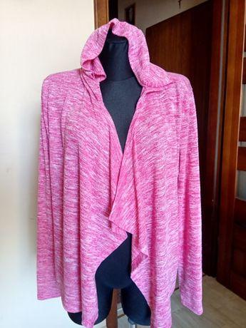 Różowy blezer damski kardigan swetr COLOURS M 38