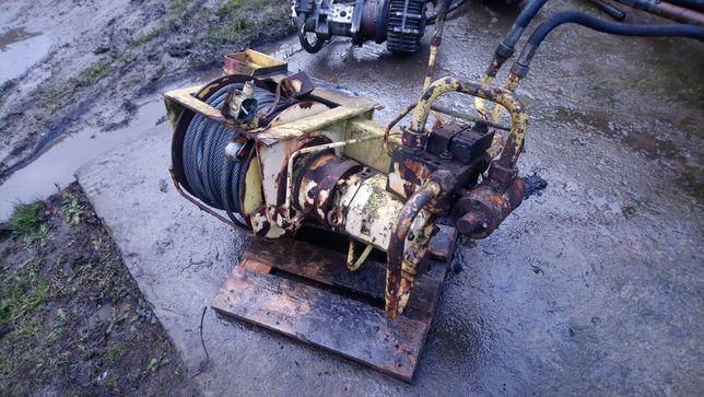 Wyciągarka hydrauliczna mechaniczna 20ton pomoc drogowa