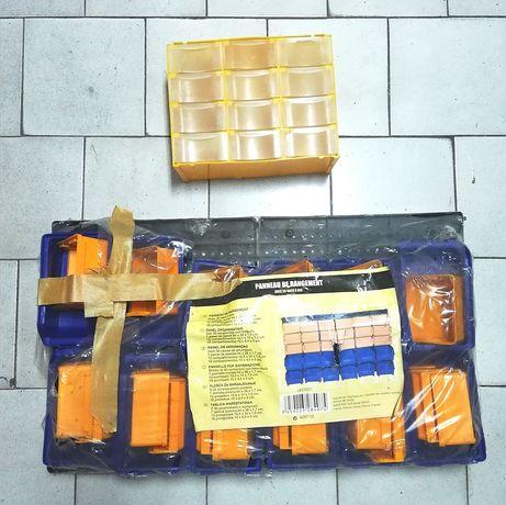Caixas de arrumação parafusos ferramentas