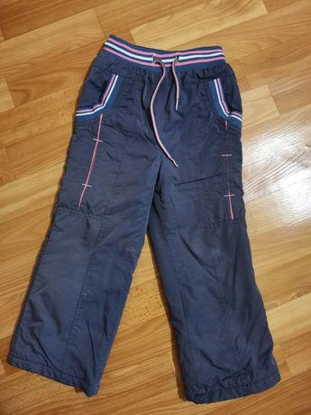 Зимние штаны на девочку 4-6 лет
