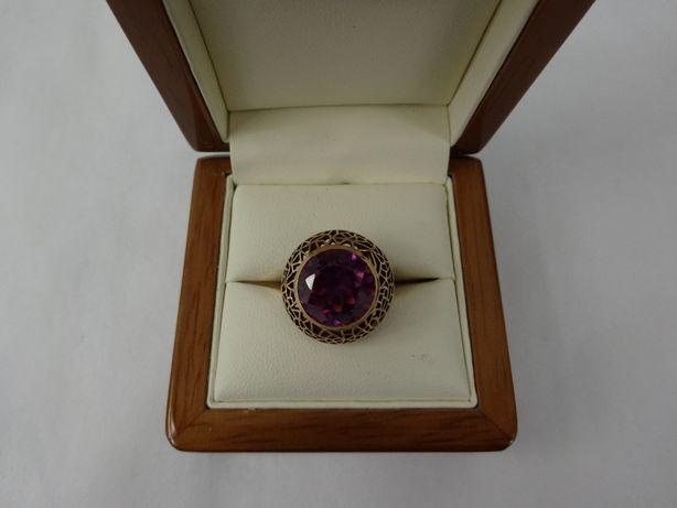 Złoty pierścionek 7,11g p585 Lombard 66